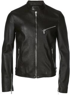 байкерская куртка Nappa Versace