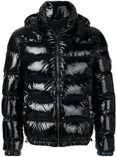 дутая куртка с лакированным эффектом Versace