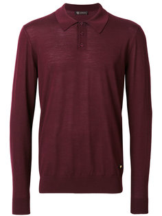 свитер с воротником-поло Versace