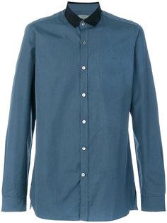 рубашка с контрастным воротником Lanvin