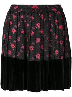 мини-юбка с цветочным принтом McQ Alexander McQueen