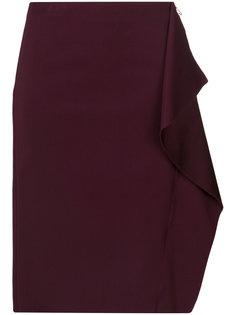 юбка с рюшами сбоку Versace