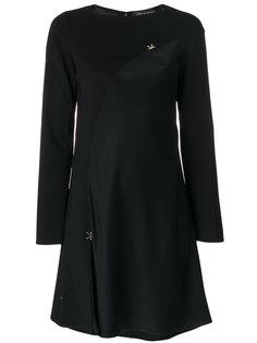 мини-платье с вырезом-лодочкой Versace