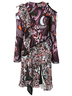 платье с принтом Wild Side Versace
