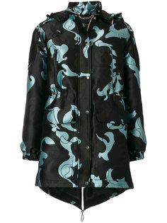 куртка с капюшоном Baroccoflage Versace