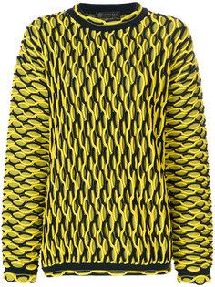 свитер крупной вязки Versace