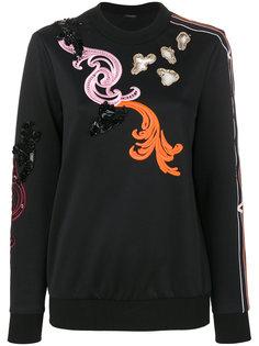 толстовка с вышивкой Baroque Versace