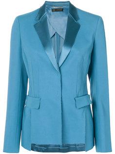 пиджак с атласными лацканами Versace