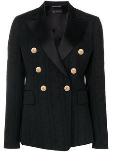 пиджак с узором в стиле барокко Versace