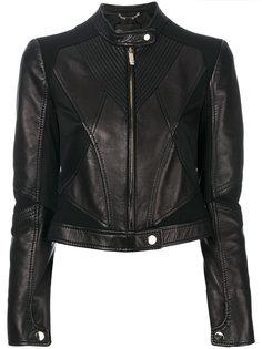 байкерская куртка Versace