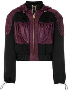 куртка с панельным дизайном Versace