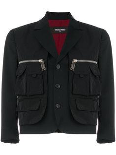 """пиджак с карманами в стиле """"карго"""" Dsquared2"""