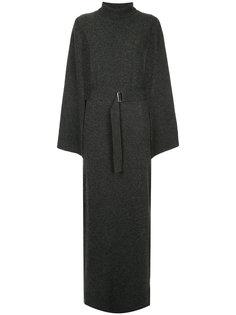 платье-кейп с отворотной горловиной  Goen.J