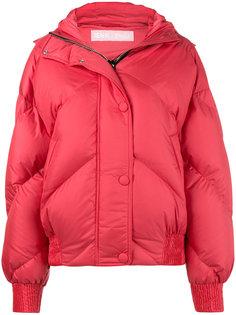 дутая укороченная куртка с капюшоном Dunlop Ienki Ienki