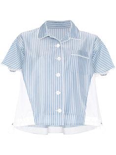 пижамная рубашка в полоску Sacai