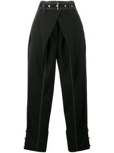 прямые брюки с завышенной талией  Proenza Schouler