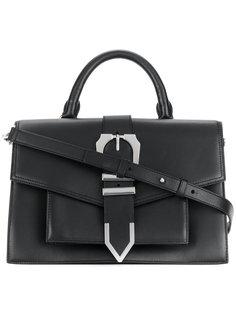 сумка-тоут с пряжкой Versus