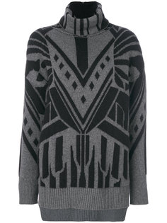 свитер с узором Just Cavalli