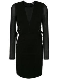приталенное коктейльное платье Just Cavalli