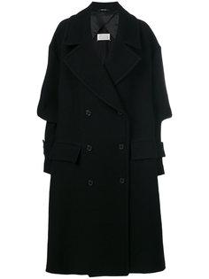 классическое двубортное пальто Maison Margiela