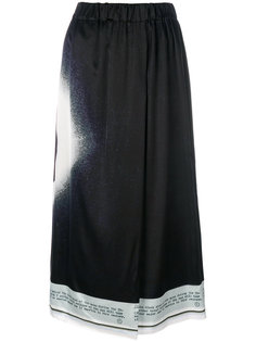юбка с солнечным затмением Maison Margiela
