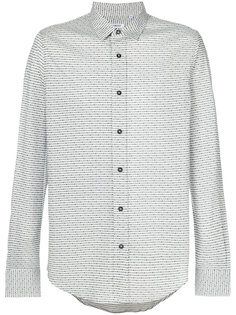 классическая рубашка с мелким узором Dirk Bikkembergs