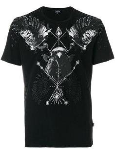 футболка с принтом птицы Just Cavalli