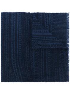 шарф с абстрактным узором фер-айл Pringle Of Scotland