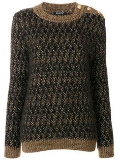 текстурированный свитер Balmain