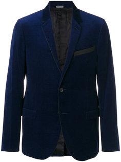 пиджак с контрастным воротником Lanvin