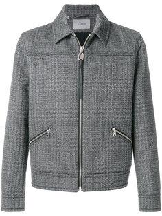 куртка Mottled Double Jacquard Yoke Lanvin