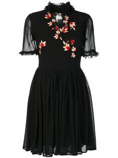 платье с вышивкой Blugirl