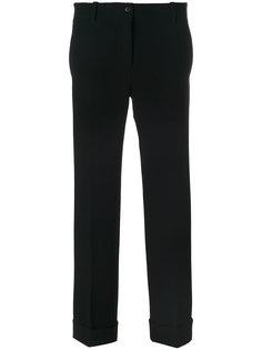 брюки с заворотами Alberto Biani