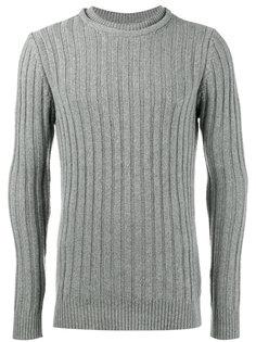 ребристый трикотажный свитер с круглым вырезом Lot78