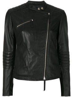 байкерская куртка Emporio Armani