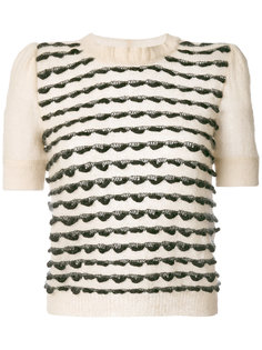 свитер с короткими рукавами  Emporio Armani
