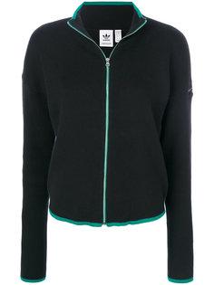 свитер с молнией  Adidas