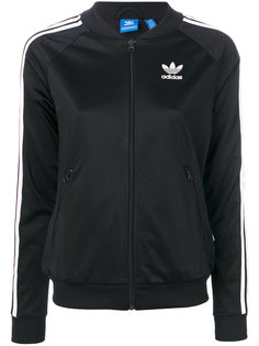 свитер на молнии с логотипом  Adidas