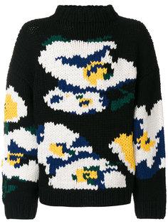свитер с абстрактным узором Études