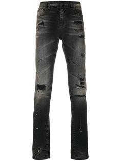 джинсы с протертыми деталями Faith Connexion