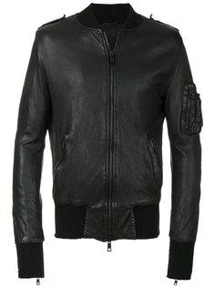 куртка в стиле бомбера Giorgio Brato