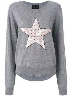 свитер со звездой  Markus Lupfer