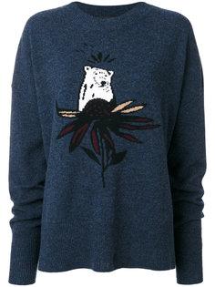 свитер с медведем  Markus Lupfer