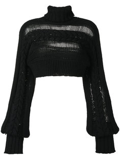 cropped cable-knit jumper Io Ivana Omazic