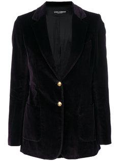 однобортный блейзер Dolce & Gabbana