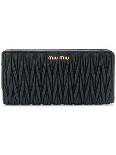стеганый кошелек Miu Miu
