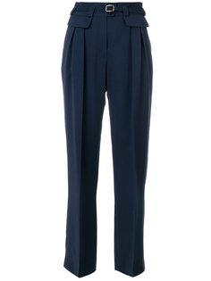 прямые брюки с поясом A.P.C.
