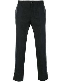 брюки с панельным дизайном Dolce & Gabbana