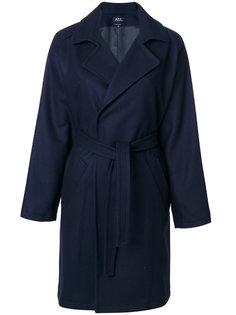 пальто с поясом  A.P.C.
