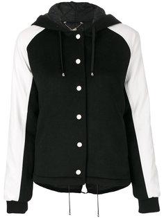 университетская куртка с капюшоном  Twin-Set